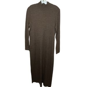 Vintage LKC for Country Wear Sweater Dress Brown